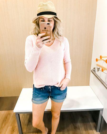 http://liketk.it/2AIEe Sweaters with shorts is my jam!! All from The Gap - all 40% off! http://liketk.it/2AIDE @liketoknow.it #LTKunder50 #LTKsalealert #liketkit