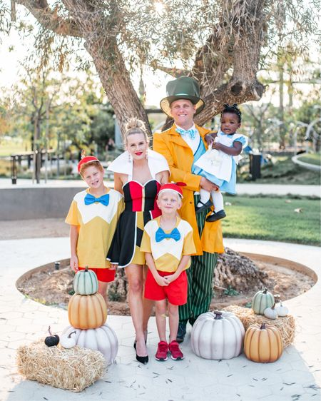 Matching family Disney themed Halloween costumes Alice in wonderland ❤️❤️❤️ each year we dress up as a family in matching Halloween costumes from something Disney! Queen of hearts, Alice, tweedle dee & tweedle dum, mad hatter! Can you spot the white rabbit? http://liketk.it/2VCD2 #liketkit @liketoknow.it #LTKfamily #LTKkids @liketoknow.it.family #LTKunder50