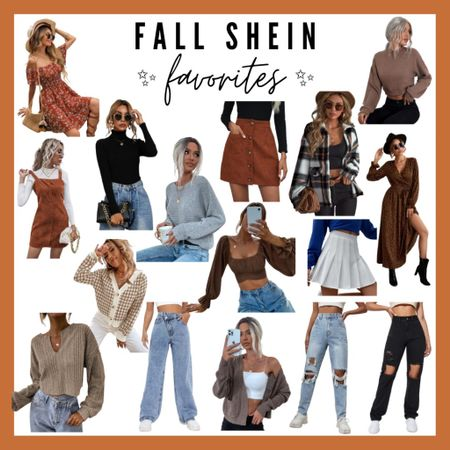 Fall shein favorites, #ltkfall, fall outfits, fall style, fall wardrobe, fall outfit  #LTKstyletip #LTKSeasonal #LTKunder50