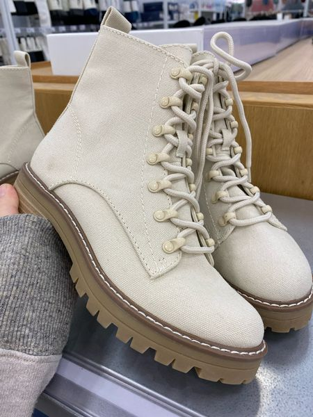 Cute target combat boots! So easy to pair with any outfit for fall & winter!🙌 #combatboots #targetstyle #targetfinds #target   #LTKunder50 #LTKSeasonal #LTKshoecrush