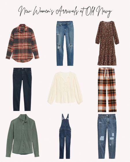 New, women's, old navy, fall, autumn, flannel, jeans, denim, overalls, dress, blouse, jacket,   #LTKstyletip #LTKunder50 #LTKSeasonal