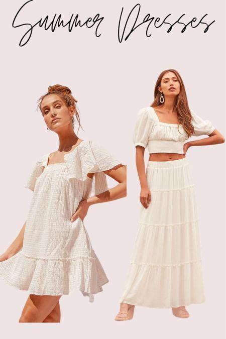 My favorite white dresses for summer.   #LTKtravel #LTKSeasonal #LTKstyletip