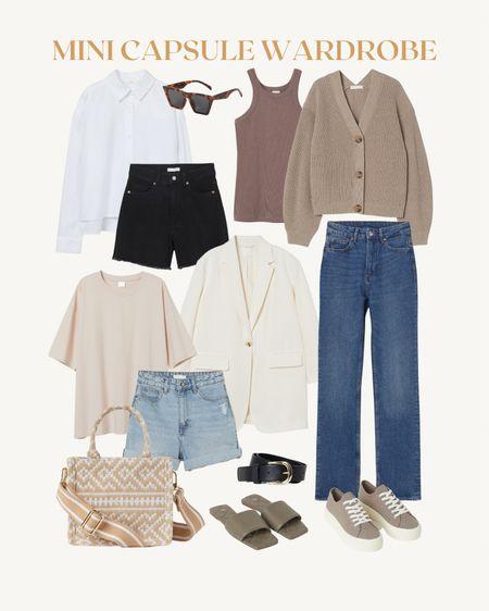 mini capsule wardrobe via H&M 💛   #LTKunder50 #LTKunder100 #LTKstyletip