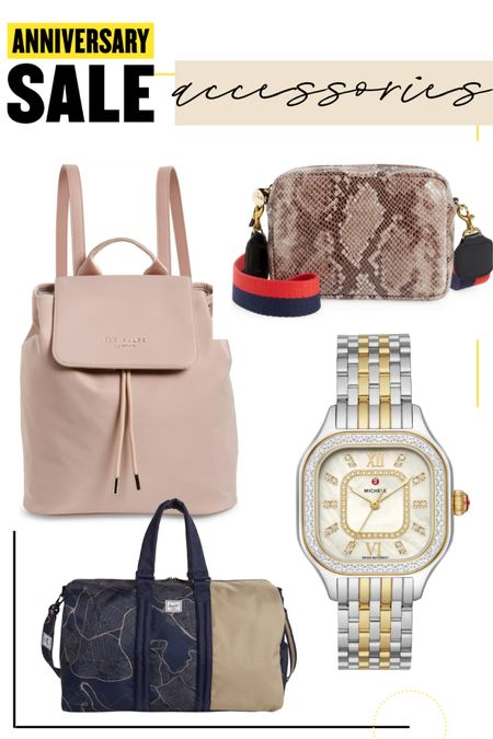 Yes baker backpack Michele watch gold and silver  Clare v snakeskin  Hershel duffel bag   #liketkit @liketoknow.it http://liketk.it/3jRRU  backpack purse #LTKunder100 #LTKitbag #LTKsalealert