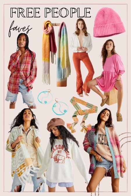 Fun colorful pieces for fall from Free People   #LTKSeasonal #LTKunder100