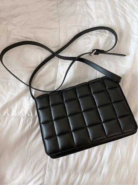 H&M shoulder bag - A great dupe for the Bottega Veneta Padded Cassette Leather Bag   #LTKstyletip #LTKunder50 #LTKitbag