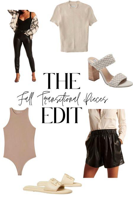 Pieces you need to build your Fall Wardrobe  #LTKshoecrush #LTKstyletip #LTKSeasonal