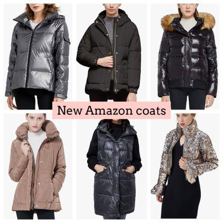 Amazon coats. Jackets. Vest. Orolay. Amazon Fashion   #LTKSeasonal #LTKGiftGuide #LTKunder100