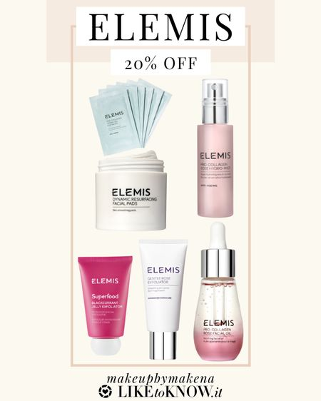 The perfect Elemis skincare products to save on during the LTK Spring Sale! Get 20% off sitewide at Elemis this weekend.