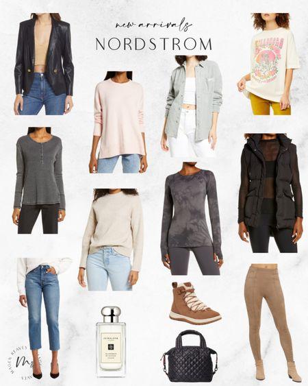 Nordstrom new arrivals puffer vest jo malone faux leather blazer vegan leather blazer graphic tee http://liketk.it/3pha2 #liketkit @liketoknow.it #LTKunder100 #LTKunder50