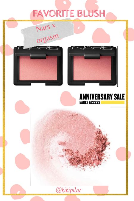NSale // Nordstrom // anniversary sale // blush // makeup picks // nars blush   #LTKbeauty #LTKunder50 #LTKsalealert