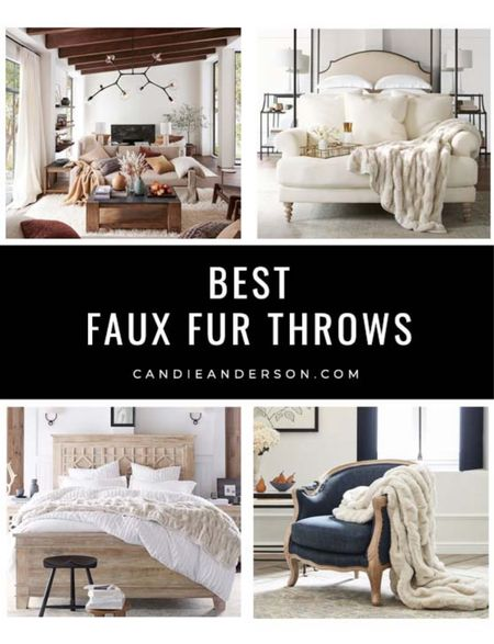 Best faux fur throws. Cozy faux fur throw blankets make a great holiday gift. Faux fur throw blanket for fall, faux fur throw blanket for winter. Blanket for edge of bed, armchair, recliner, sofa! Gift for mom. Gift for dad. Gift for daughter, gift for son. Gift for grandma. Gift for grandpa. ❤️   #LTKGifts #LTKhome #LTKfamily