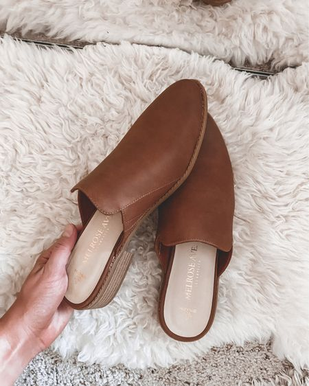 $35 leather mules 😍 amazing walmart find for today! Such a steal and great quality. Ordered my true size! http://liketk.it/2VqHc @liketoknow.it #liketkit #LTKshoecrush #LTKunder50 #LTKstyletip