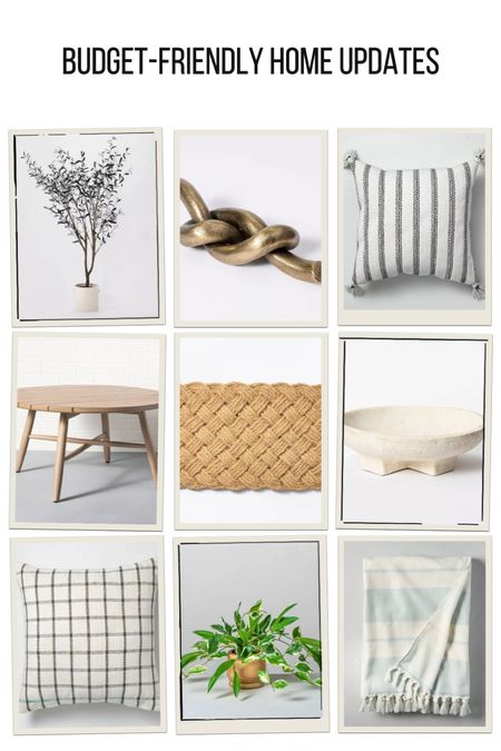 Affordable home updates for summer! Perfect pieces for styling on shelves or refreshing a room   #LTKunder100 #LTKhome #LTKunder50