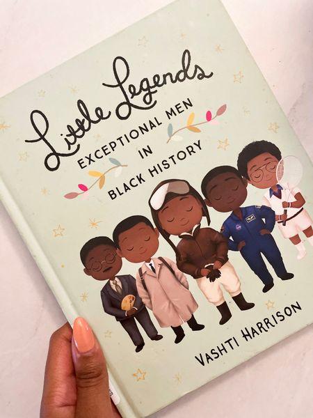 Little Legends: Exceptional Men In Black History 🖤   #LTKunder50 #LTKbaby #LTKunder100