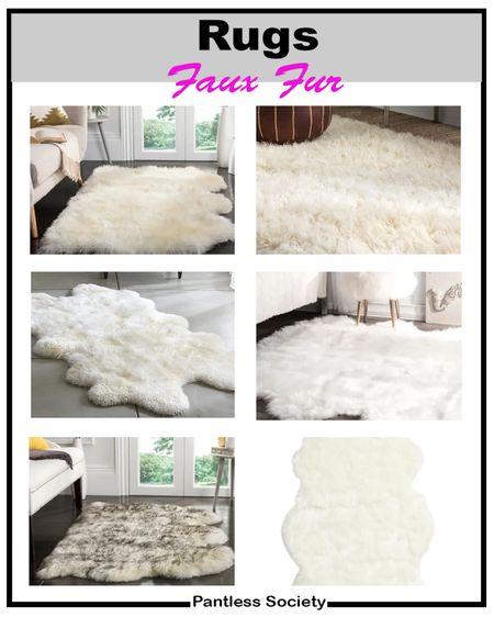 Faux fur rug. Shag rug. Living room. Master bedroom. Bedroom. Dining room. Entry way. Home decor. Fall home refresh. Interior design. Comfy living.   #LTKstyletip #LTKfamily #LTKhome