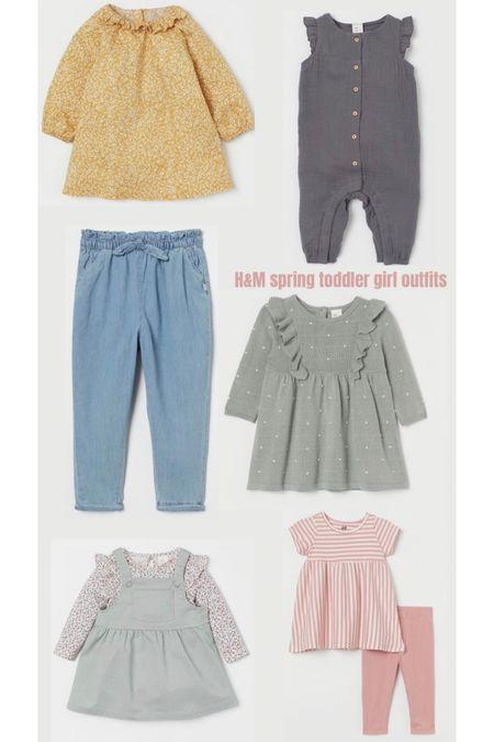 H&M baby/toddler girl spring outfits @liketoknow.it #liketkit http://liketk.it/37ZgK #LTKbaby #LTKkids #LTKunder50