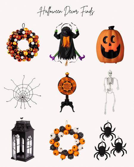 Halloween, Target, decorations, outdoor, indoors, wreath, pumpkin, spiders, lanterns, witch, spiderweb   #LTKSeasonal #LTKhome #LTKfamily