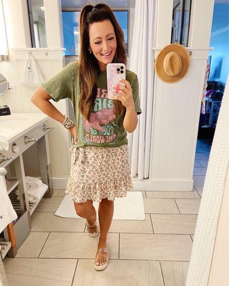 • size small tee • size medium skirt  Code ASHDONIELLE for 20% off   http://liketk.it/3im1y #liketkit @liketoknow.it