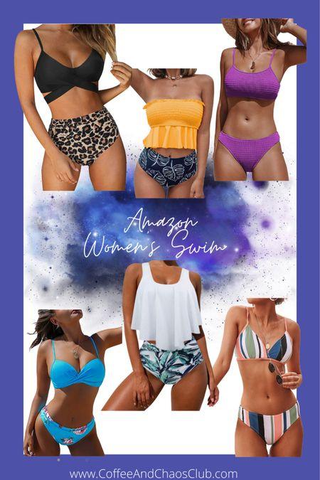 Amazon swimsuit finds, women's swimsuits, women's bikinis http://liketk.it/3dypF #liketkit @liketoknow.it #LTKswim #LTKtravel