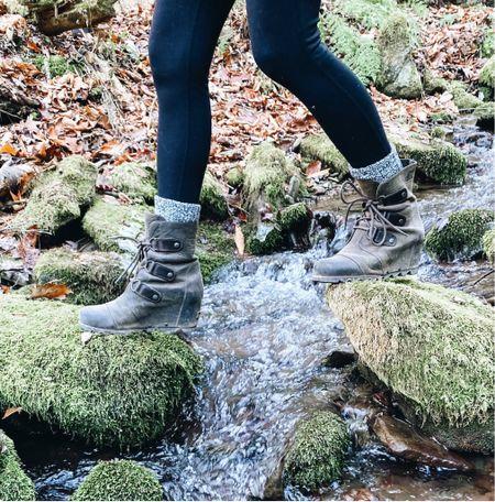 Sorel wedge boots really were made for walking. Now select colors are 50% off!   #LTKshoecrush #LTKsalealert #LTKstyletip