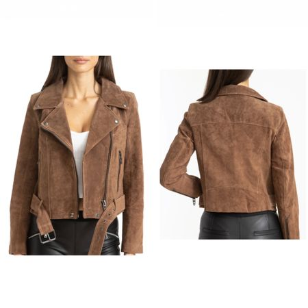 Super cute suede jacket NSale.  Runs TTS   #LTKstyletip #LTKfit #LTKsalealert