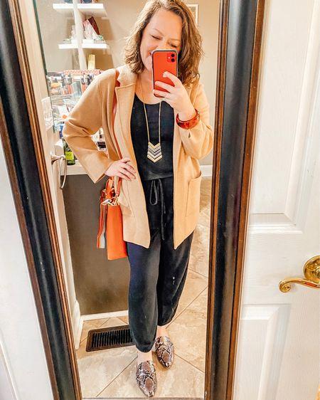 Easy fall outfit 🍁   #LTKcurves #LTKSeasonal #LTKitbag