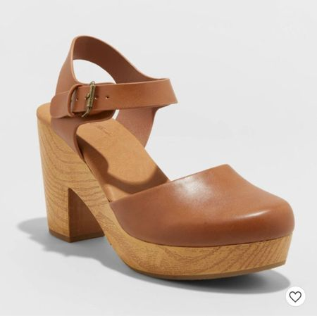 The ultimate Fall shoe. I get so many compliments when I wear my clogs and these are super affordable.   #LTKGiftGuide #LTKshoecrush #LTKsalealert