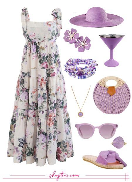 Designer Dupe Maxi Dress Under $100 perfect for summer weddings, bridal showers, baby showers, date nights and more!   #LTKwedding #LTKworkwear #LTKunder100