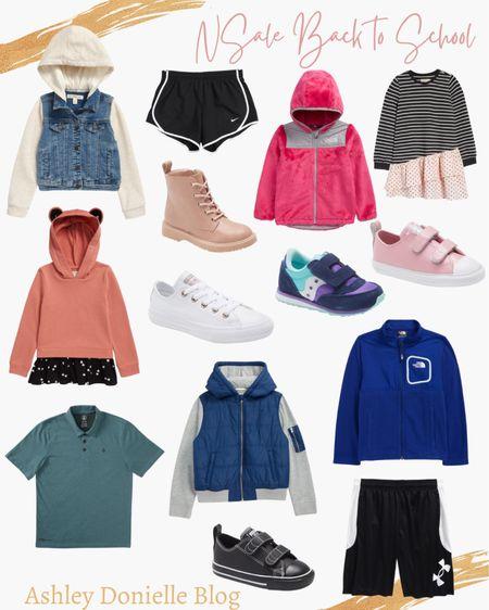 Back to school finds for the kids from #nsale - kids sneakers, kids jackets, kids clothes!   #LTKshoecrush #LTKkids #LTKsalealert