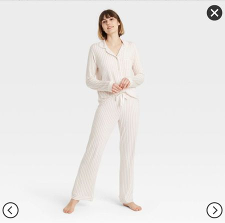 Absolutely obsessed with three pajamas from target. They are so soft. They do not shrink. And you will want to live in them. I wear a size small.   #LTKfamily #LTKhome #LTKHoliday