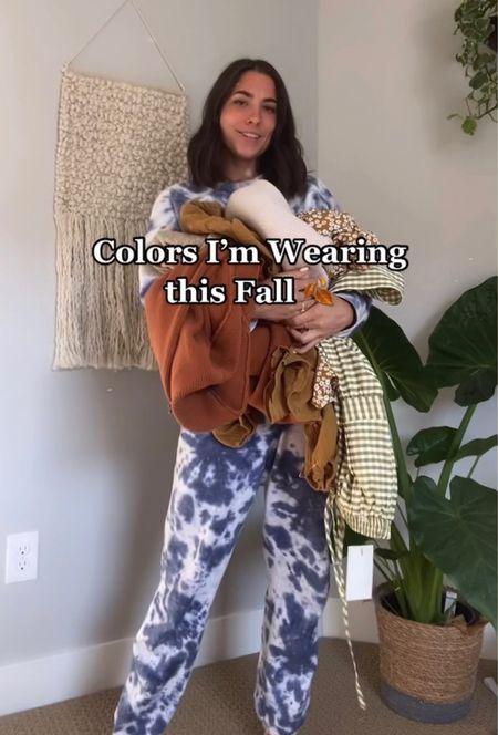 Colors I'm wearing this fall 🍂  #LTKstyletip #LTKshoecrush #LTKunder50