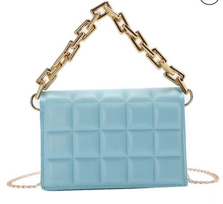 Here's another GORGEOUS designer inspired bag! Love the cute baby blue color but there's a ton other colors too!! And it's under $26!!!!  #LTKGiftGuide #LTKstyletip #LTKitbag