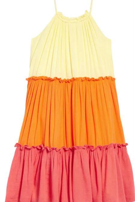 Little girls' tiered dress #LTKfamily #LTKkids #LTKunder50 http://liketk.it/3g6JW #liketkit @liketoknow.it
