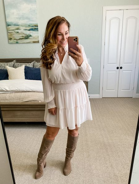 Gibsonlook x Hey Nasreen Collection perfect for fall use code RYANNE15 for 15% off   Dress, L but is on the short side   Fall outfits  Date Night  Mini dress  One shoulder  Family Photos  Nashville  Girls night outfit  Wine country   #LTKSeasonal #LTKunder100 #LTKsalealert