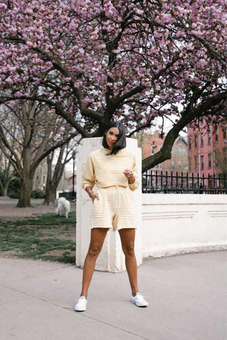 Spring outfit, loungewear, matching set http://liketk.it/3evj3 #liketkit @liketoknow.it #LTKunder100 #LTKunder50 #LTKhome