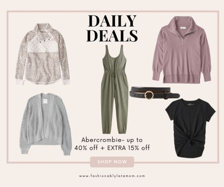 Spruce up your fall fashion with these pieces from Abercrombie.  #LTKstyletip #LTKunder100 #LTKsalealert