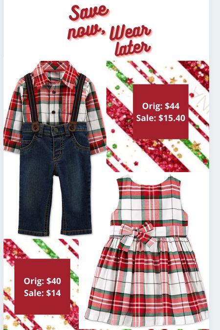 #ltkwinter Christmas Plaid #ltkbaby  Christmas dress   #LTKSeasonal #LTKGiftGuide #LTKHoliday