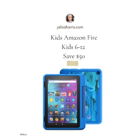 Kids Amazon Fire HD Fire Tablet for kids 6-12 is up to $60 off  #LTKfamily #LTKSale #LTKkids