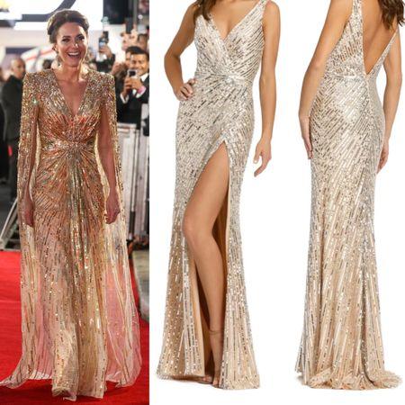 Kate inspired sequin dress #glitter #glam #party #dance   #LTKeurope