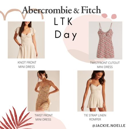 Loving these Abercrombie finds! Be sure to get them on sale on LTK day😍 Download the LIKEtoKNOW.it shopping app to shop this pic via screenshot @liketoknow.it #liketkit #LTKDay #LTKsalealert #LTKstyletip http://liketk.it/3hdLj