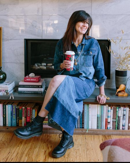 As you may know, I love taking a modern trend, finding its original vintage inspiration, and styling up both in my own unique way. From boho to street style to 90s vibes, patchwork is so versatile. And fun!  I also love patchwork and the fact that designers, from ASOS to Alice & Olivia, are still embracing this trend. Many times these pieces are made out of the material scraps on their own cutting room floor, and zero waste is an important step in cleaning up the fashion industry.  For vintage lovers, or for those who want to incorporate more vintage in their closets, this is an easy style to find on the secondary market.   I have linked to some very cool pieces from both vintage sellers on Etsy to a few modern counterparts.   You can shop these pieces and more: - download the free LIKETOKNOW.it app - follow us at @afashionatinglife #linkinbio - ❤️ or screenshot our looks for the details       http://liketk.it/3abit #liketkit @liketoknow.it @liketoknow.it.home #LTKstyletip #LTKunder100 #LTKsalealert