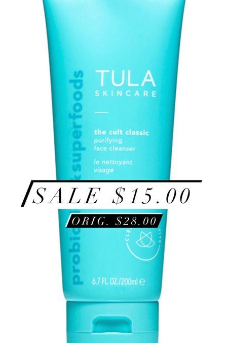 My favorite face cleanser is on sale! http://liketk.it/31QFL #liketkit #StayHomeWithLTK #LTKbeauty #LTKsalealert #tula @liketoknow.it