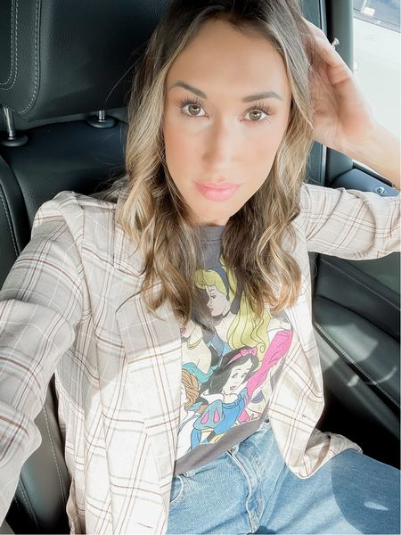 Business princess 👸🏻   This neutral plaid blazer is part of a matching set, and I love that I can also wear it as a separate. You should have blazers AND matching sets in your closet to maximize your wardrobe.    #LTKstyletip #LTKworkwear #LTKunder100