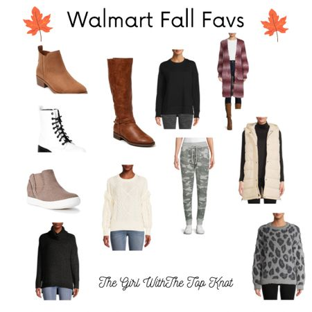 Walmart fall favs! So many cute fall options and super affordable prices!   #LTKstyletip #LTKHoliday #LTKunder50