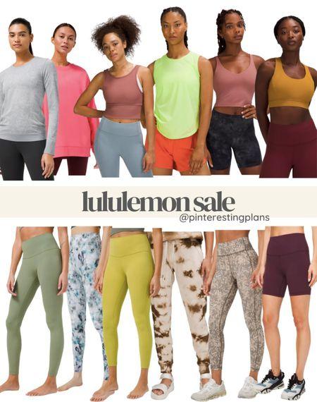 Lululemon sale, wunder under, align, bike shorts, workout wear, running, exercise, sports bra, leggings