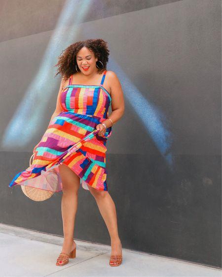 Heyyy ! It's my BDayyy 🎊🎉 🎂!!   Cheers 🥳 to feeling healthy💪🏾, having my family 👨🏻👦🏻👩🏽🦱👩🏾🦱, getting to go to work 🚗 💨 , and getting to move my body at the gym 🏃🏾♀️!! Now let me go twirl 💃🏾 around in this dress!   This fun little dress is from @shein in a 3xl. I like that is bursting with color 🌈 and has a tie back. It's light and float too. It's linked in my LIKEtoKNOW.it- go to the link 🔗 in Bio. http://liketk.it/3iF5V #liketkit @liketoknow.it  ——————————————————————————— 🇩🇴 Heyyy! ¡¡Es mi cumpleaños 🎊🎉 🎂 !!  ¡¡Estoy celebrando que 🥳 me siento saludable💪🏾, tengo a mi familia 👨🏻👦🏻👩🏽🦱👩🏾🦱, puedo ir a trabajar 🚗 💨 y mover mi cuerpo en el gimnasio 🏃🏾♀️ !! ¡Ahora déjame dar vueltas con este vestido!  Este pequeño y divertido vestido es de @shein en un 3xl. Me gusta que esté lleno de color 🌈 y que tiene un lazo. También es ligero y flotante. Está vinculado en mi LIKEtoKNOW.it: vaya al enlace 🔗 en Bio.