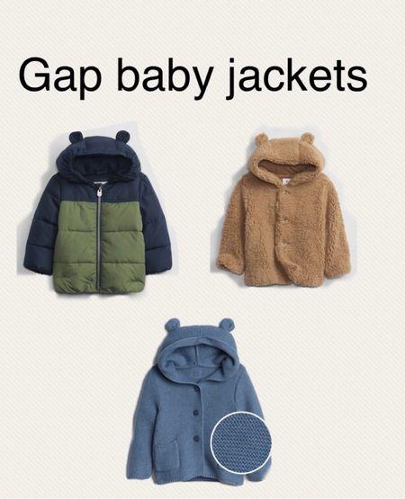 Gap baby, baby winter wear, baby boy fall clothes, gap kids   #LTKbaby #LTKkids #LTKSeasonal