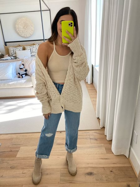 Another great cozy oversized cardigan. So easy to layer over any tank or bodysuit. Code: DEDE20 for 20% off  #LTKfit #LTKstyletip #LTKSeasonal