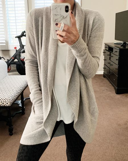 Don't miss out on this cozy cardigan on the #nsale! It is SO good and I live in it in the colder temps! #nordstromsale #barefootdreams   #LTKsalealert #LTKunder100 #LTKstyletip